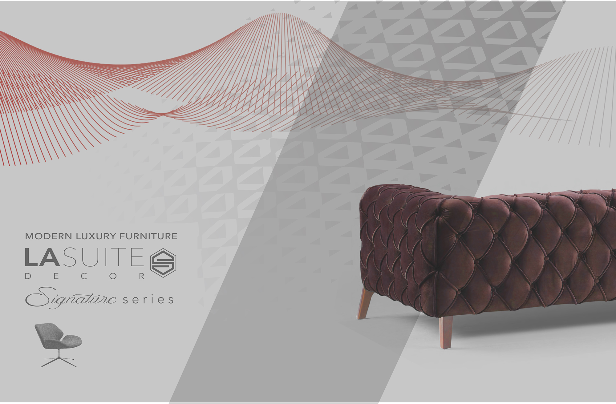 La Suite Sofa, Lounge Chairs Catalogue